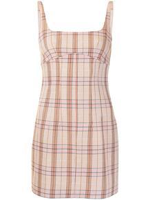 платье мини в клетку MANNING CARTELL 1629633252