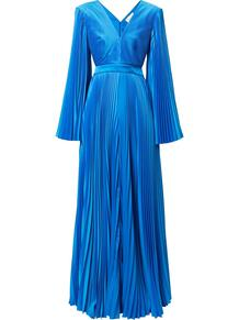 плиссированное платье с открытой спиной SEMSEM 1644307450