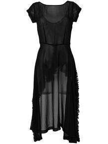 прозрачное асимметричное платье Comme Des Garçons Pre-Owned 1236952377