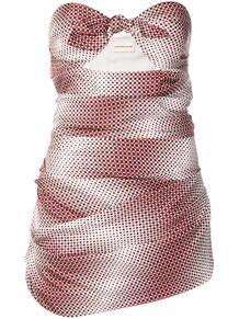 платье без бретелей в горох ALEXANDRE VAUTHIER 136372955154