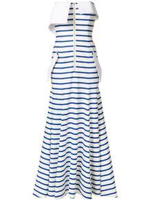 платье-бандо в полоску Natasha Zinko 126632305152