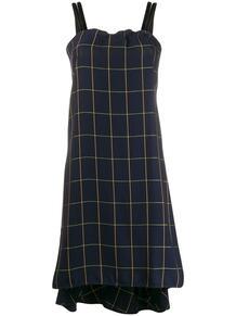 платье в клетку без рукавов McQ Swallow 146472865154