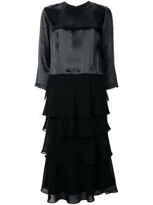 многослойное платье с рукавами три четверти Comme Des Garçons Pre-Owned 1278582377