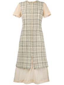 платье в клетку Comme Des Garçons Pre-Owned 1323961477