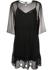 многослойное платье-трапеция See by Chloe 152800855248