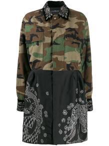 комбинированное платье-рубашка Miandoum John Richmond 146365885248