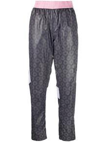 спортивные брюки с абстрактным принтом John Richmond 1624830783