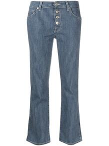 укороченные джинсы в полоску 7 for all mankind 165122335056
