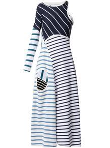 платье в полоску MARINE SERRE 1652257277