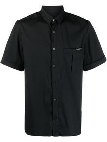 рубашка с короткими рукавами и нагрудным карманом Les Hommes 165589165348