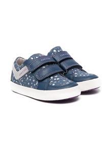 кроссовки на липучках с логотипом Geox 166192285050