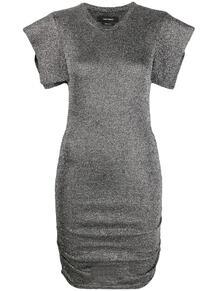платье Marthe с эффектом металлик Isabel Marant 165851465250