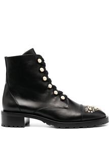 декорированные ботинки в стиле милитари Stuart Weitzman 158799485248