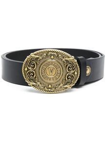 ремень с тисненым логотипом Versace Jeans Couture 16516220494948