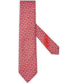 галстук с принтом Ermenegildo Zegna 16130471636363633263