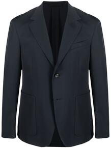 однобортный пиджак Lanvin 166312035350