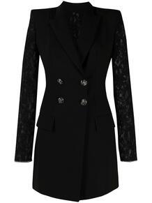платье-пиджак с кружевными вставками PHILIPP PLEIN 1619227277