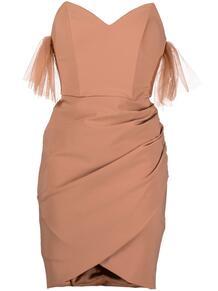 платье с тюлем Elisabetta Franchi 166187295248