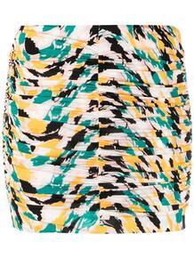 юбка мини со сборками и принтом Missoni 163998235252
