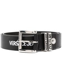 ремень с пряжкой и вышитым логотипом Versace Jeans Couture 159215815748