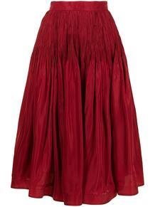 длинная плиссированная юбка The 2Nd Skin Co. 164629855250