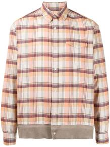 клетчатая рубашка на пуговицах UNDERCOVER 1653658949
