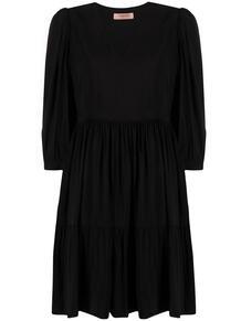 платье ампирного силуэта с рукавами три четверти TWINSET 166358045250
