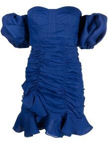 платье с открытыми плечами и сборками Isabel Marant 165993885248