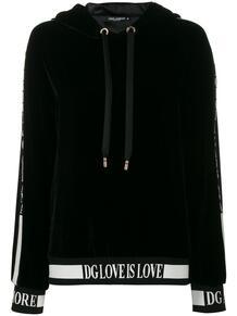 худи Love is love Dolce&Gabbana 147185685248