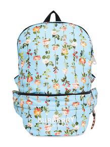 рюкзак-трансформер с цветочным принтом Burberry Kids 16471037791101013283