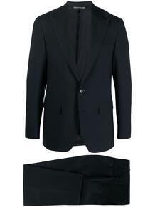 строгий костюм с однобортным пиджаком Canali 166528845354