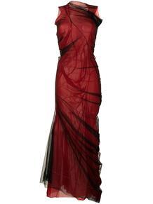 платье из тюля со сборками MAISON MARGIELA 163936735250