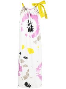 длинное платье с принтом тай-дай MSGM 1615370983