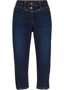Капри джинсовые с декоративными швами bonprix 267074253