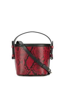 сумка-тоут с тиснением под змеиную кожу Nico Giani 14227111636363633263