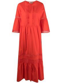 платье миди с кружевом TWINSET 166732105252