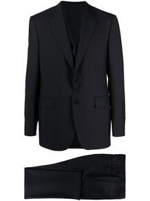 костюм-двойка с однобортным пиджаком Canali 166278475350