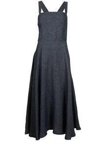 расклешенное платье миди без рукавов Martin Grant 166053425154