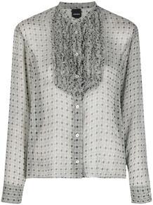 блузка с длинными рукавами и манишкой ASPESI 164386225254