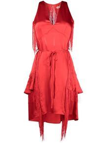 платье с бахромой TWINSET 166679365248