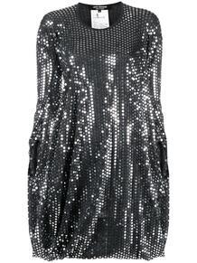 драпированное платье с пайетками Junya Watanabe 1652767577