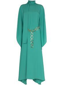 платье макси El Sol с рукавами-кимоно TALLER MARMO 16085276636363633263