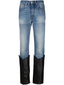 джинсы с манжетами MM6 Maison Margiela 166305705154