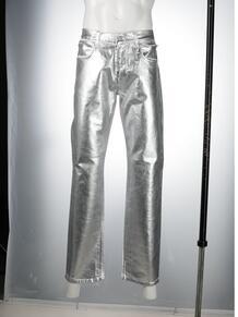 узкие джинсы с эффектом металлик 1017 ALYX 9SM 166387395150