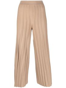 расклешенные трикотажные брюки Theory 1669540080