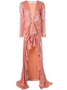 вечернее платье с пайетками и глубоким декольте THE ATTICO 154237665248