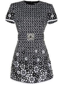 твидовое платье узкого кроя Andrew GN 166184255250