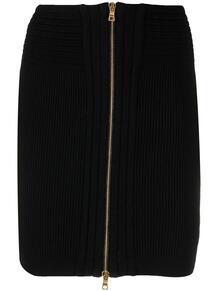 юбка в рубчик на молнии BALMAIN 161679815250