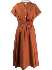 платье-рубашка с эластичным поясом Paul Smith 150525755248
