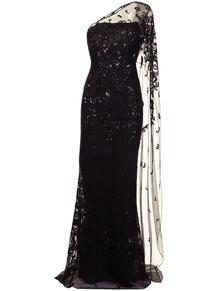 вечернее платье с тюлем ZUHAIR MURAD 164629495154